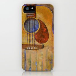 Acoustic Guitar iPhone Case