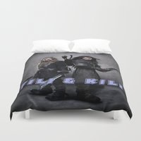 the hobbit Duvet Covers featuring aidan turner,hobbit  , hobbit  games, hobbit  blanket, hobbit  duvet cover,kili & fili by ira gora