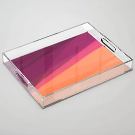 Imaginary Sunset Acrylic Tray