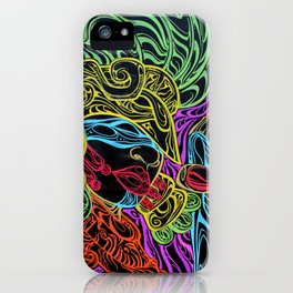 Guerrera Aguila iPhone Case