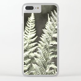 Fantasy Feather Like Fern Clear iPhone Case