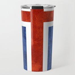 Icelandic Flag Travel Mug