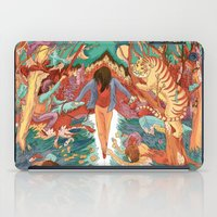 balance iPad Cases featuring Balance by Mary Slumber