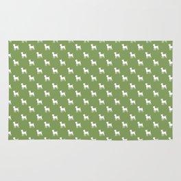 Jack Russell terrier pattern Rug