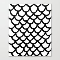 scales Canvas Prints featuring Scales by Geryes