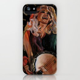 The Ecstasy of Dolly Parton iPhone Case