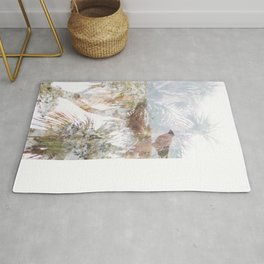 Where the sea sings to the trees - 10 Rug