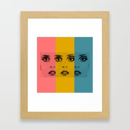 Pretty Fright 2 Framed Art Print