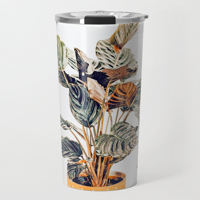 Botany || #illustration #painting #nature Travel Mug