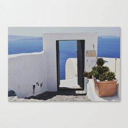 Doorway to the Caldera Canvas Print