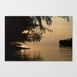 Tranquil Lagoon Canvas Print