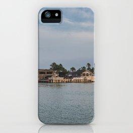 Port Isabel Long Island Village iPhone Case
