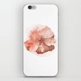 Orange Rose Watercolor iPhone Skin