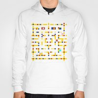 pac man Hoodies featuring Pac-Man Boogie Woogie by Jake Friedman
