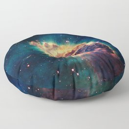 Carina Nebula Floor Pillow