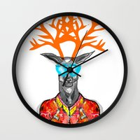 Deer Me Wall Clock