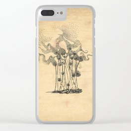 Blown Away Clear iPhone Case