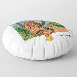 Frida Cowlo Floor Pillow