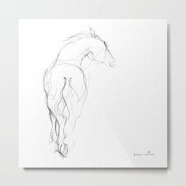 Horse (Dancing) Metal Print