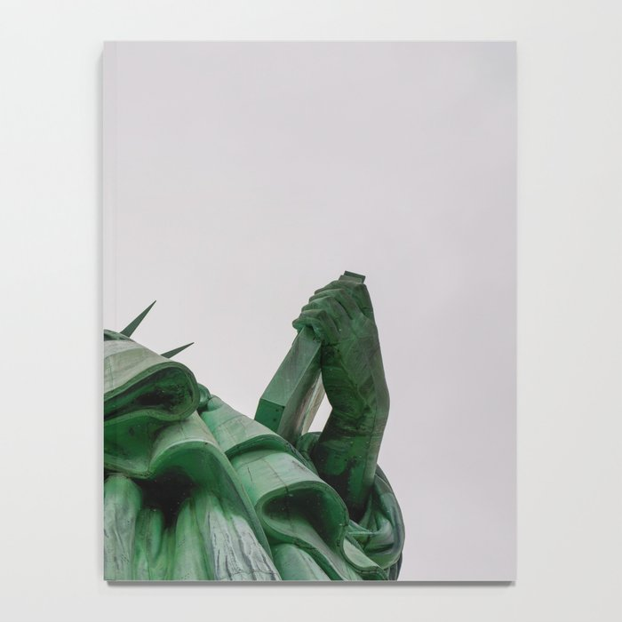 New York City: Statue of Liberty (Color) Notebook