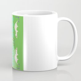 Pixel / 8-bit Ferret Pattern Coffee Mug