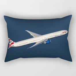 British Airways 777-300ER Rectangular Pillow