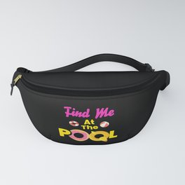 At The Pool Swimming Pool Swimming Fanny Pack
