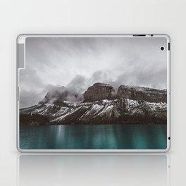Landscape Maligne Lake Mountain View Photography   Alberta   Canada Laptop & iPad Skin