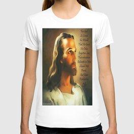 Jesus - John 3:16 T-shirt