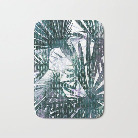 Fan Palms Theme Bath Mat