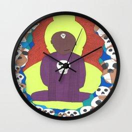 Cutting through spiritual materialism Wall Clock