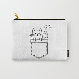 Cat in my pocket Carry-All Pouch