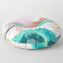 Lagoon Moon Floor Pillow