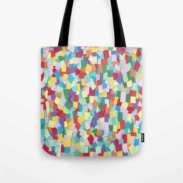 Rainbow Pixels Tote Bag
