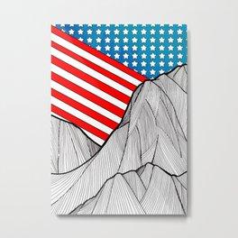 American Mounts Metal Print