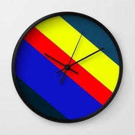 color bar Wall Clock