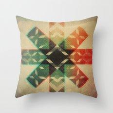 Technicolor Dream-o-Scope Throw Pillow