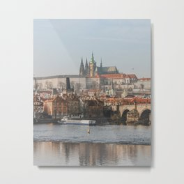 City of Prague Metal Print