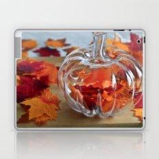 Pumpkin Vase Laptop & iPad Skin