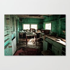 The Workshop Canvas Print