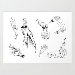 Sorcery  Art Print