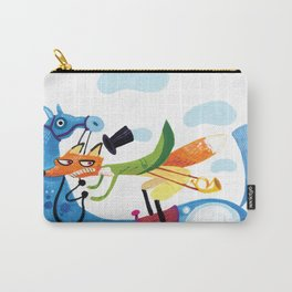 Riding Fox Carry-All Pouch
