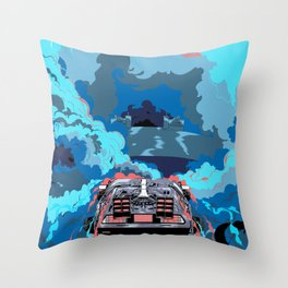 Back to the Future 2 - BTTF Throw Pillow