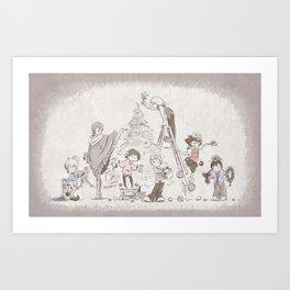Kingdom Christmas Art Print