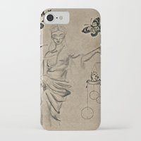 justice iPhone & iPod Cases featuring Justice by Maithili Jha
