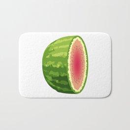 Water Melon Cut In Half Bath Mat