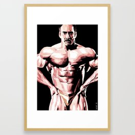The Cage Framed Art Print