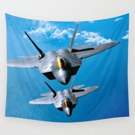 Lockheed Martin F-22 Raptor Wall Tapestry