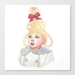 Cindy Lou Who Canvas Print