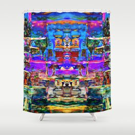 Castle of Laughter Shower Curtain